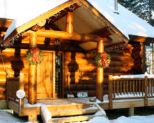 Here in Upper Peninsula of Michigan and Northern Wisconsin, we inspect many log homes because of the many vacation properties and countless lakes.